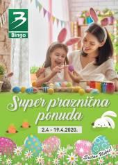 KRALJ DOBRIH CIJENA BINGO - SUPER PRAZNIČNA PONUDA - DODATNO SNIŽENO do 19.04.2020.