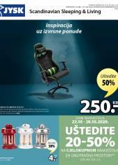 Jysk ponuda - JYSK Katalog - INSPIRACIJA UZ IZVRSNE PONUDE - Akcija sniženja do 04.11.2020
