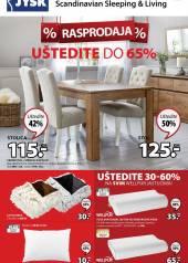 Jysk ponuda - JYSK Katalog - Super akcija od 23.01. DO 05.02.2020.