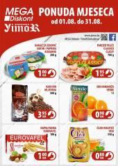 YIMOR i MEGA DISKONT - PONUDA MJESECA - Akcija do 31.08.2020