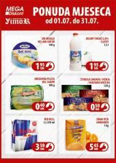 YIMOR i MEGA DISKONT - PONUDA MJESECA - Akcija do 31.07.2020