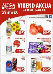 YIMOR i MEGA DISKONT - VIKEND AKCIJA do 02.08.2020