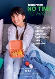 TUPPERWARE Katalog -  NO TIME TO WASTE - AKCIJA SUPER SNIŽENJA DO 27.12.2020