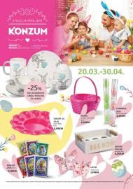 KONZUM - Tematski katalog -STIGLO JE PROLJEĆE - 20.03.2020. - 30.03.2020.