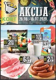 KORT Marketi - KATALOG - Akcija do 16.07.2020.god.