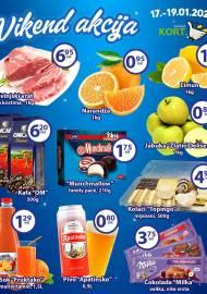 KORT Marketi - VIKEND Akcija do 19.01.2020.god.