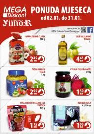 YIMOR i MEGA DISKONT - PONUDA MJESECA - Akcija do 31.01.2021