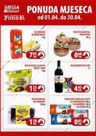 YIMOR i MEGA DISKONT - PONUDA MJESECA - Akcija do 30.04.2020