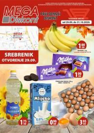 YIMOR i MEGA DISKONT - PONUDA ZA SREBRENIK - Akcija do 31.10.2020