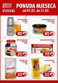 YIMOR i MEGA DISKONT - PONUDA MJESECA - Akcija do 31.03.2020