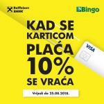 KRALJ DOBRIH CIJENA BINGO - 10% manje cijene na domaće proizvode - EXTRA POVOLJNO do 25.08.2018. (2)