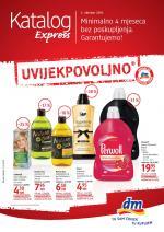 dm Katalozi -Express Akcija za OKTOBAR 2018.
