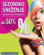 FIS SEZONSKO SNIŽENJE do-50% - AKCIJA do 15.08.2018