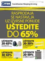 Jysk ponuda - JYSK Katalog - Super akcija do 16.01.2019.
