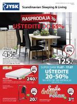 Jysk ponuda - JYSK Katalog - Super akcija od 11.07. do 24.07.2019.