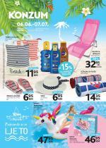 KONZUM - TEMATSKI katalog 06.06.-07.07.2019.