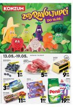 KONZUM - Redovni katalog 13.05.-19.05.2019.
