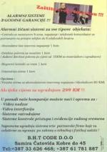 ALARMNI SISTEMI - 3 GODINE GARANCIJE - AKCIJSKA PONUDA