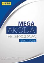 FIS VITEZ MEGA AKCIJA VELEPRODAJE DO 27.07.2016. godine