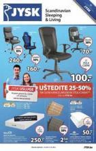 Jysk ponuda - Katalog - Akcija do 14.10.2015.