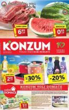 Katalog - Konzum katalog - akcija do 09.08.2015