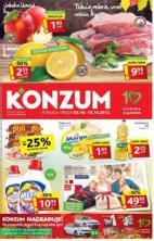 Katalog - Konzum katalog - akcija do 18.10.2015.