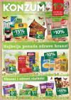 Katalog - Konzum akcija NAJBOLJA PONUDA ZDRAVE HRANE do 19.04.2015.