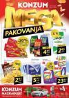 Katalog - Konzum akcija MEGA UŠTEDA do 19.04.2015.