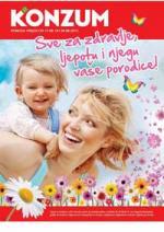 Katalog - Konzum katalog  - akcija SVE ZA ZDRAVLJE do 30.08.2015