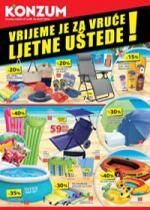 Katalog - Konzum akcija Vrijeme je za vruće ljetne uštede! Akcija do 05.07.2015.