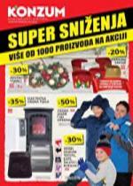 Katalog - Konzum akcijski katalog SUPER SNIŽENJA - akcija do 06.12.2015.
