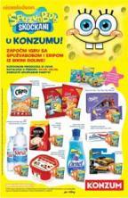 Katalog - Konzum katalog  - akcija SPUŽVA BOB do 06.09.2015