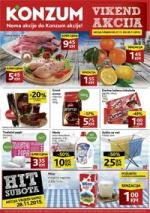 Katalog - Konzum akcija VIKEND AKCIJA do 29.11.2015.