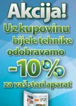 KUPITEHNIKU.ba - Akcija uz kupovinu bijele tehnike