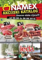 NAMEX - AKCIJSKI KATALOG do 26.06.2016. godine!