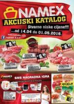 NAMEX Kataloška Akcija do 01.05.2016. godine!