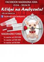 """Nagradna igra Facebook """"Klikni na Ambyentu"""" - kućni ljubimac"""