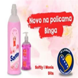 Od sada na policama Binga tečni sapun i šampon  iz Dite