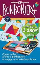 TROPIC - Kupon - bon katalog Bonbonjera, ponuda za jun 2016.