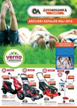 AGROMEHANIKA - TC VERNO - KATALOG MAJ 2016