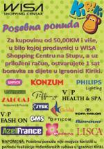 WISA - Shopping Centar - Aktuelne akcije - Posebna ponuda