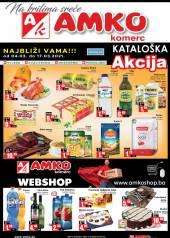 AMKO - KATALOG - Akcija do 17.03.2021. Godine
