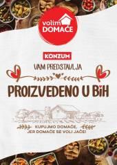 KONZUM KATALOG - PROIZVEDENO U BIH - AKCIJA SNIŽENJA DO 23.05.2020.