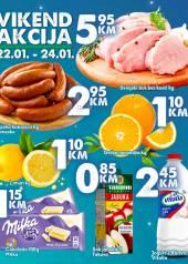 KORT Marketi - VIKEND Akcija do 24.01.2021.god.