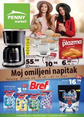 PENNY Marketi Kataloška akcija - MOJ OMILJENI NAPITAK - Akcija do 07.11.2021.god.