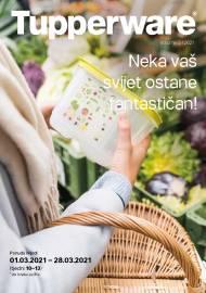TUPPERWARE Katalog -  NEKA VAŠ SVIJET OSTANE FANTASTIČAN - AKCIJA SNIŽENJA DO 28.03.2021.