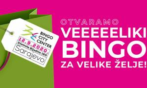 Bingo City Center u Sarajevu počinje sa radom u subotu 12. septembra
